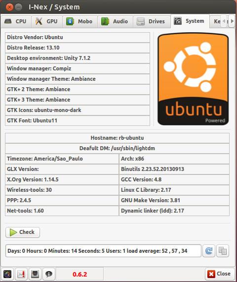 i-nex ubuntu