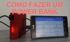 Como fazer um POWER BANK